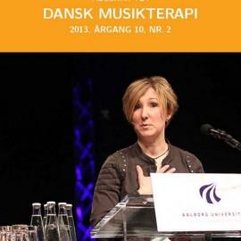 Tidsskriftet Dansk Musikterapi 2013, 10(2)