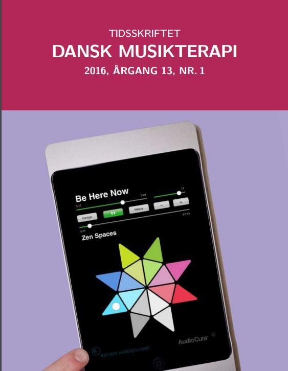 Tidsskriftet Dansk Musikterapi 2016, 13(1)
